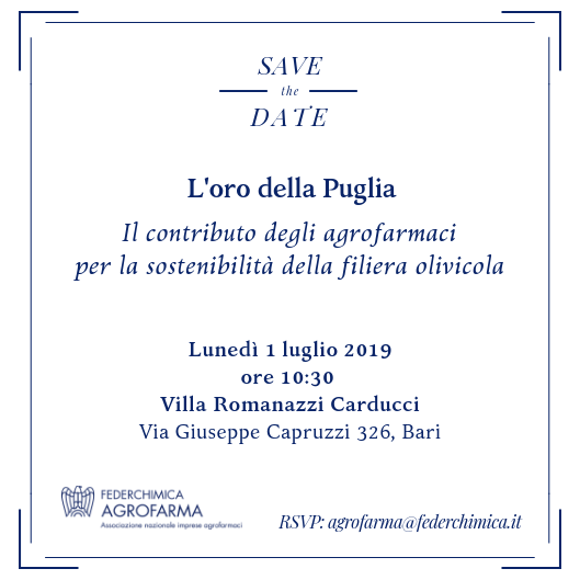 Save the Date_Agrofarma_Puglia2019